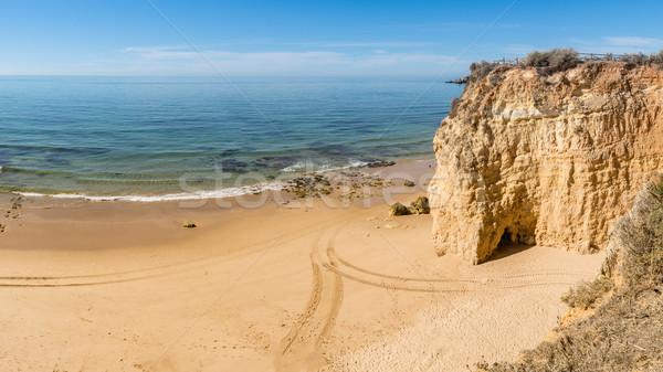 живописный пляж известный туристических Сток-фото © homydesign