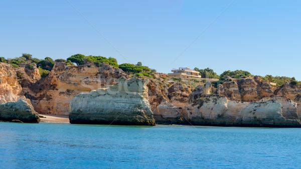 Prainha in Algarve Portugal Stock photo © homydesign