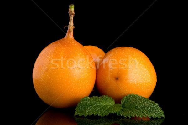 страсти фрукты продовольствие фон оранжевый тропические Сток-фото © homydesign
