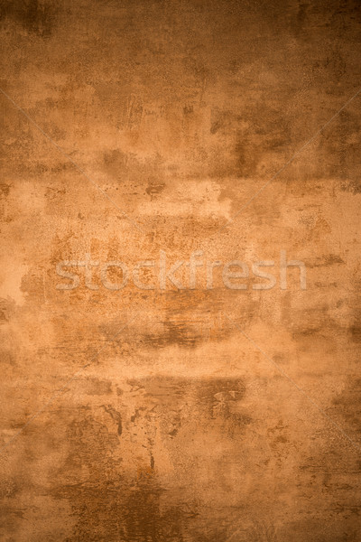 Old rusty metal plate Stock photo © homydesign