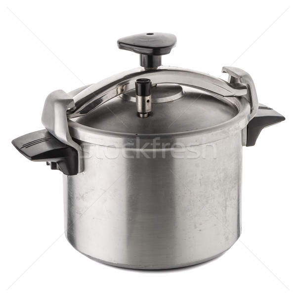 Used pressure cooker Stock photo © homydesign