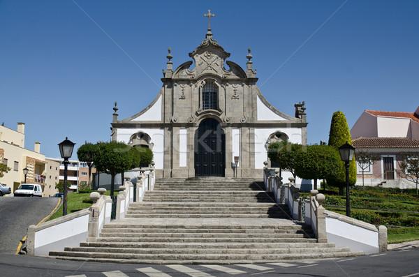 The Calvario chapel Stock photo © homydesign