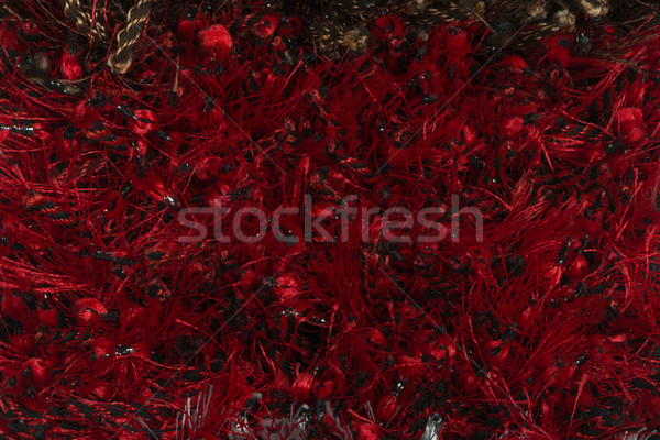 Vörös szőnyeg közelkép részlet textúra terv háttér Stock fotó © homydesign
