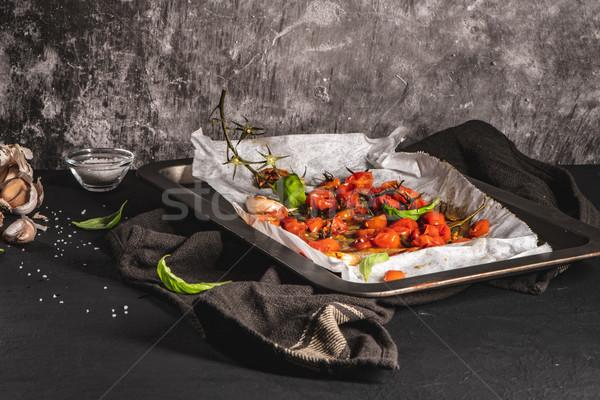 桜 地中海料理 レシピ アイデア 赤 ストックフォト © homydesign