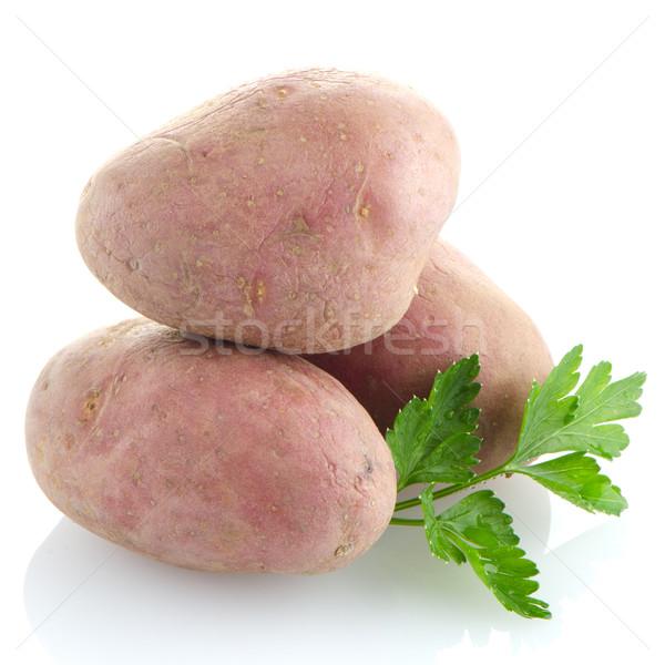 Red potatoes Stock photo © homydesign