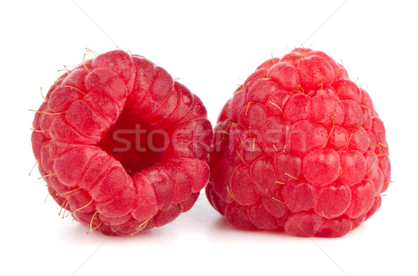 Ripe red raspberry Stock photo © homydesign