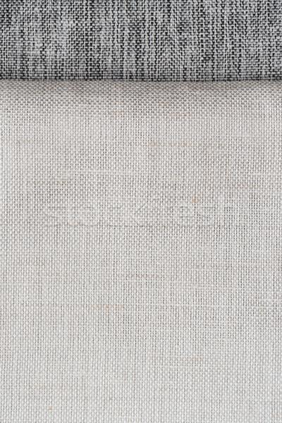 White fabric texture Stock photo © homydesign