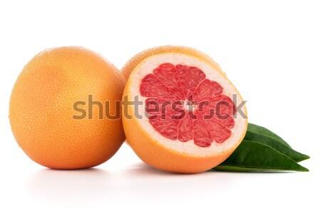 赤 グレープフルーツ 孤立した 白 食品 ストックフォト © homydesign
