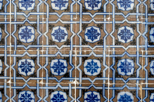 Portuguese glazed tiles 029 Stock photo © homydesign