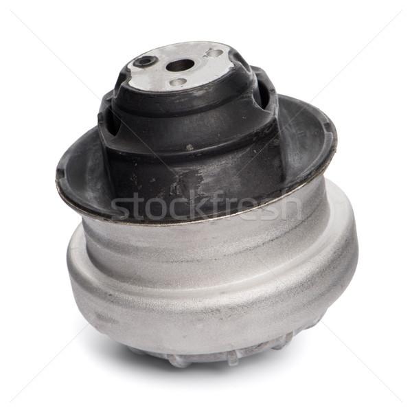 Stock fotó: Autó · gép · izolált · fehér · ipari · fekete