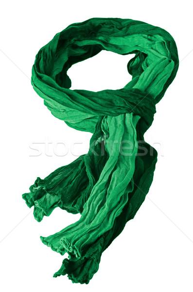 Green scarf Stock photo © homydesign