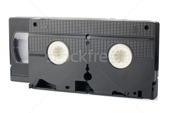 Old VHS Video tapes Stock photo © homydesign