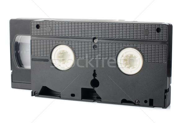 öreg videó izolált fehér televízió technológia Stock fotó © homydesign