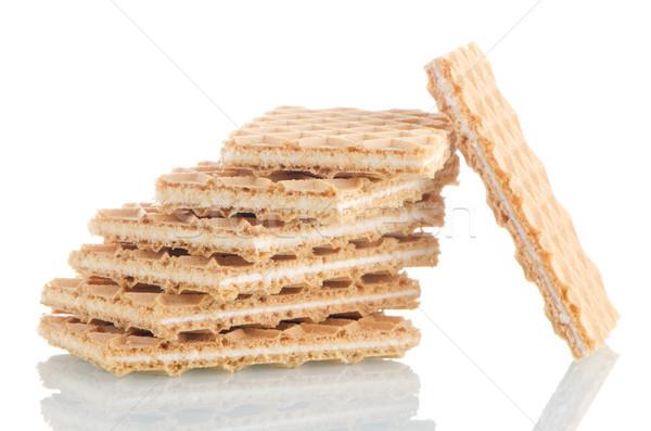 Vanilla wafers Stock photo © homydesign