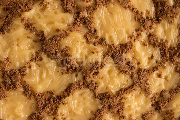 Pudding klassiek traditioneel geserveerd christmas tijd Stockfoto © homydesign