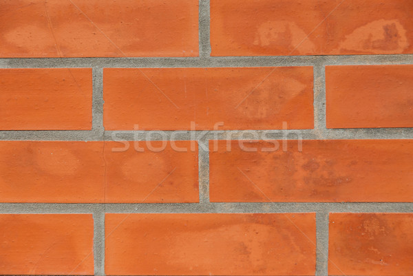 Red brick wall texture Stock photo © homydesign
