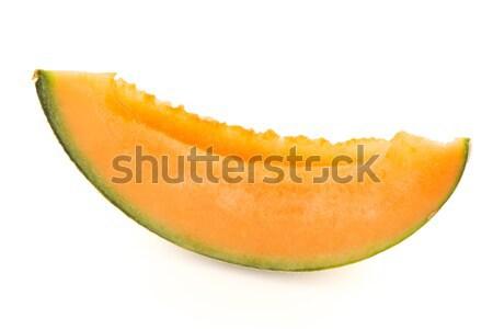 Mango vruchten plakje witte groene Stockfoto © homydesign