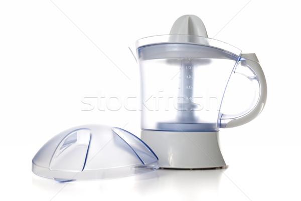 Modern juice extractor Stock photo © homydesign
