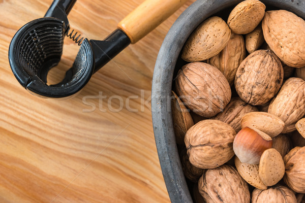 Assorted nuts Stock photo © homydesign
