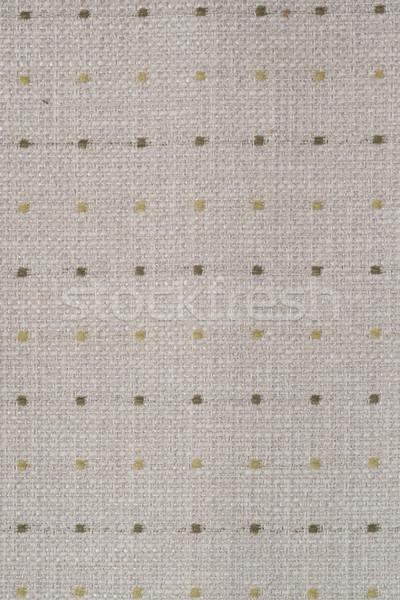 Beige weefsel textuur detail abstract Stockfoto © homydesign