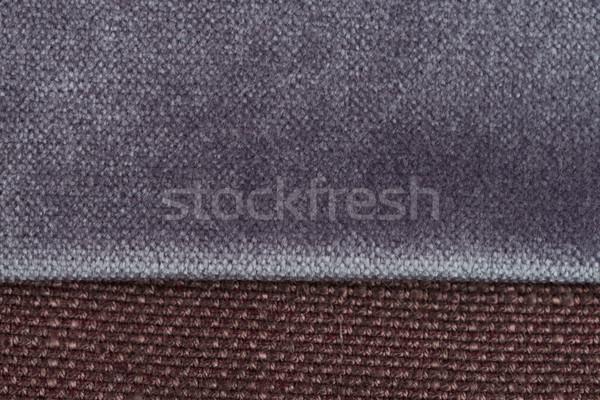 Violet cloth material Stock photo © homydesign