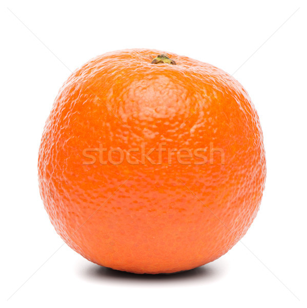 érett mandarin mandarin izolált fehér étel Stock fotó © homydesign