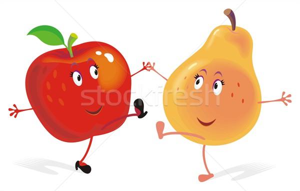 Appel peer geen vector gemakkelijk Stockfoto © HouseBrasil