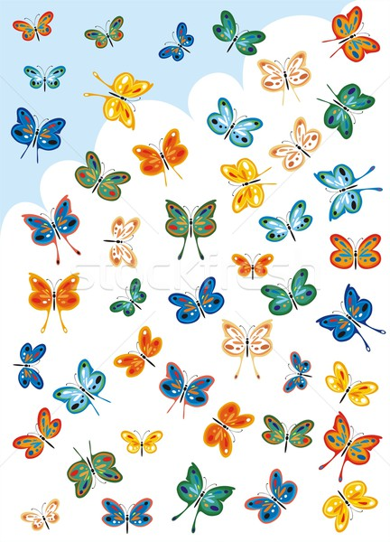 Butterfly For Collectors Stock photo © HouseBrasil