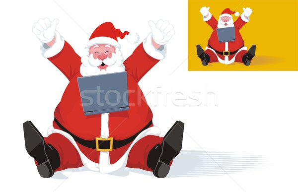 Santa Claus Wins the Game Stock photo © HouseBrasil