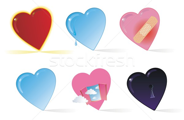 Heart Collection One Stock photo © HouseBrasil