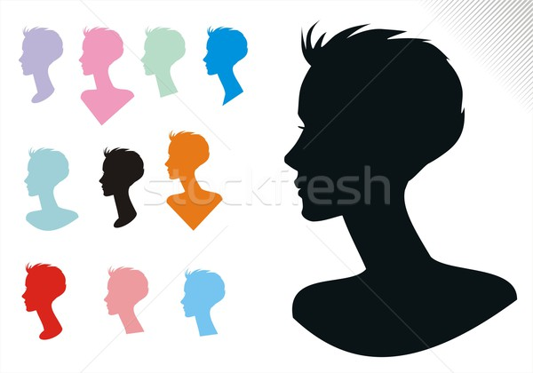 Woman Hair Styles One  Stock photo © HouseBrasil