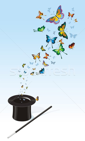 Magic Butterflies Stock photo © HouseBrasil