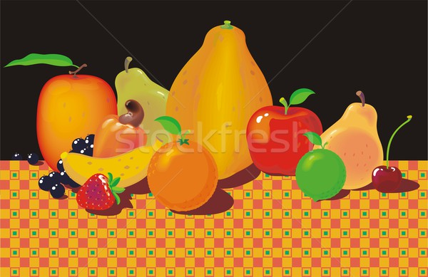 Fruits on the Table Stock photo © HouseBrasil