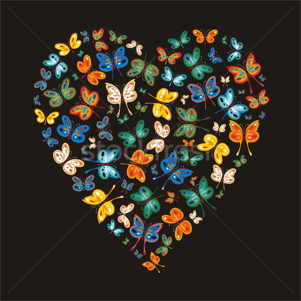 Love Butterflies Two Stock photo © HouseBrasil