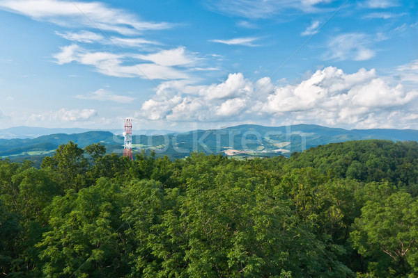 Transmitter in the mountains Stock photo © hraska