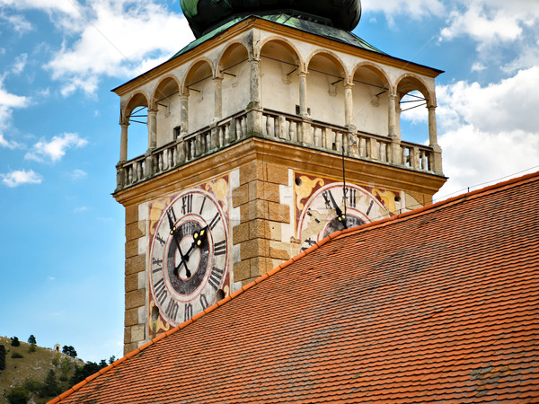 Clock tower Stock photo © hraska