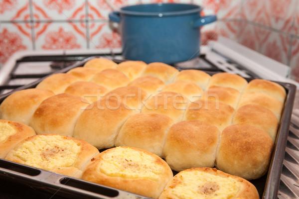 Foto d'archivio: Mamme · torte · dolci · fuori · forno