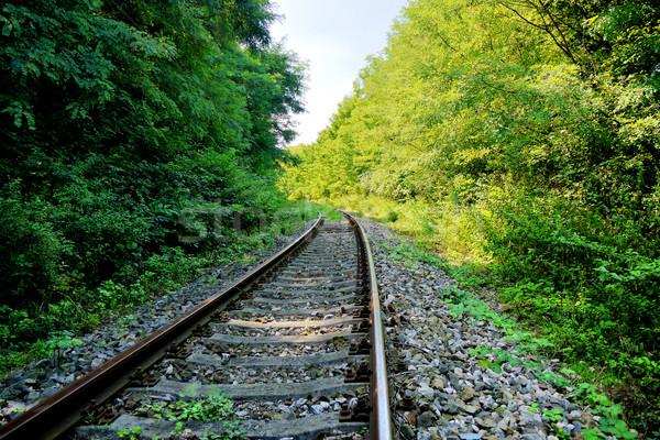 Old railway Stock photo © hraska