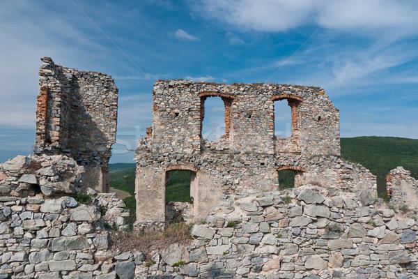 城 遺跡 西部 地域 スロバキア ストックフォト © hraska