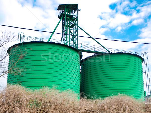 Grain silo Stock photo © hraska