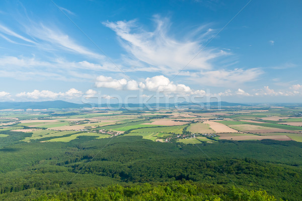 Stock photo: Fields and acres