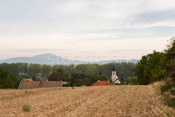Stock photo: Beautiful rural countryside