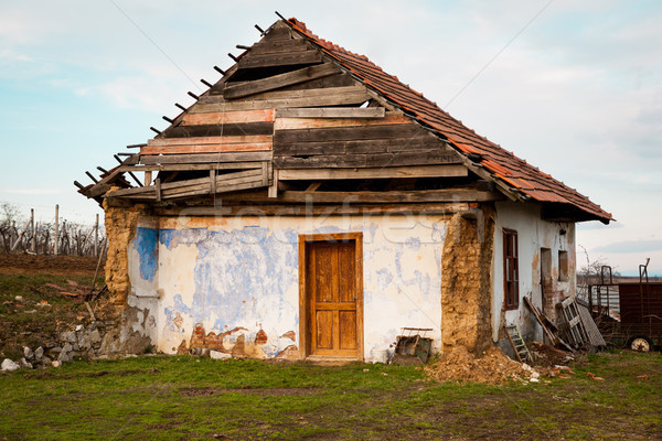 Damaged house Stock photo © hraska
