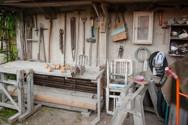 Handyman workshop Stock photo © hraska