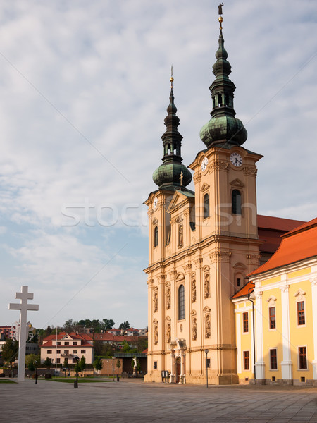Velehrad basilica in Moravia Stock photo © hraska