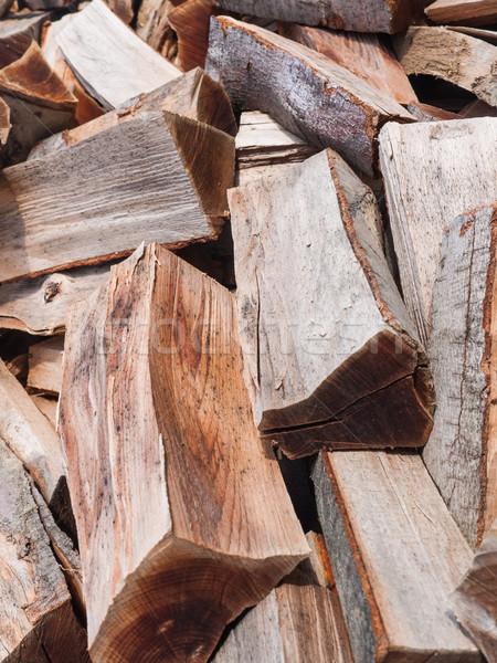 Pile of wood Stock photo © hraska
