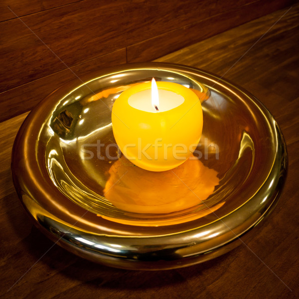 Golden candlestick Stock photo © hraska