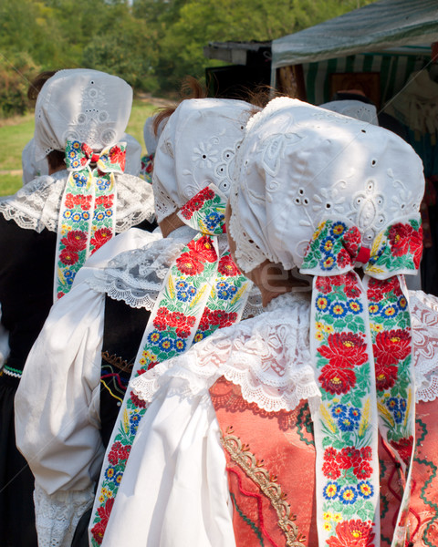 traditional costumes Stock photo © hraska