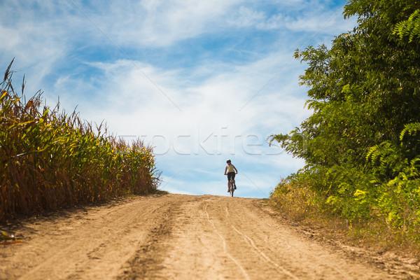 Rural biking Stock photo © hraska