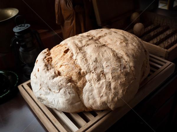 Homemade bread Stock photo © hraska